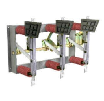 Chaves seccionadoras   com base e sem porta fusíveis (MT)